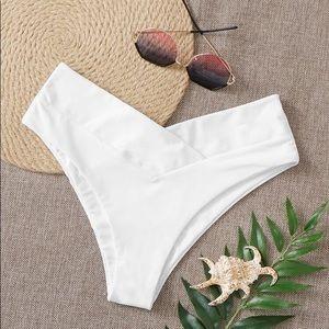 Shein White Bathing Suit NWOT